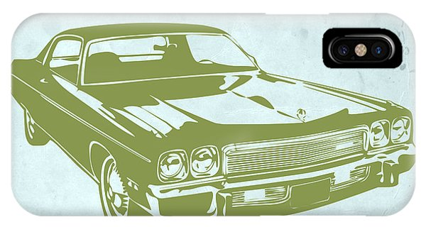 American Cars iPhone Case - My Favorite Car 5 by Naxart Studio
