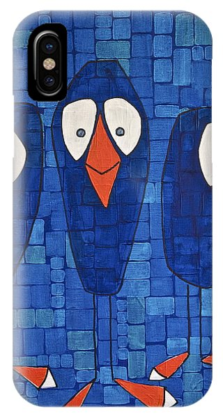 My Three Birds IPhone Case