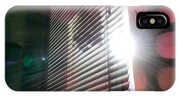 Follow iPhone Case - My #window In #morning #sunshine #sun by Abdelrahman Alawwad