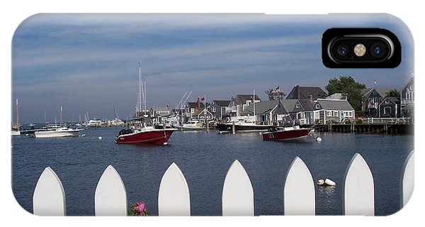 Nantucket Harbor IPhone Case