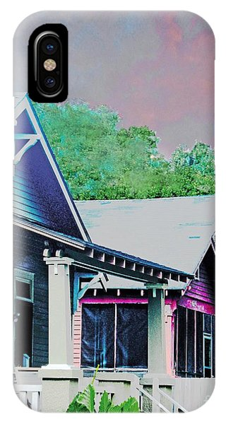 Napoleon Street Beauregard Baton Rouge IPhone Case