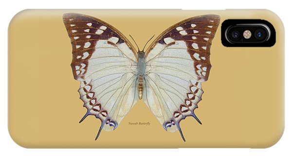 Nawab Butterfly IPhone Case