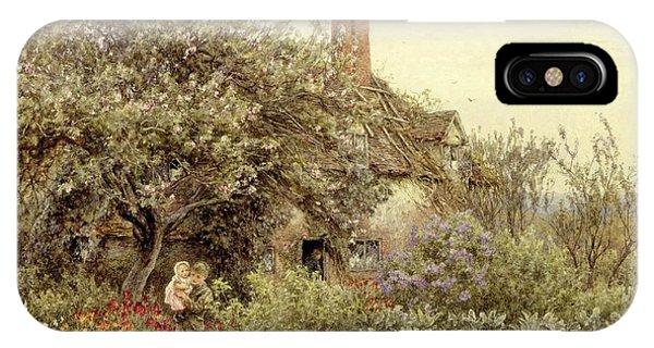 Country iPhone Case - Near Hambledon by Helen Allingham