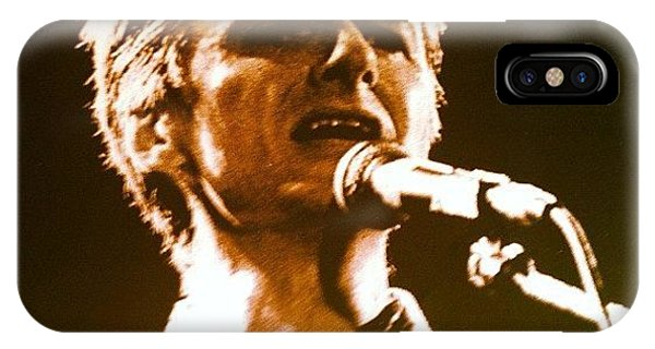 Pop Art iPhone Case - Neil Finn by Brent McGilvary