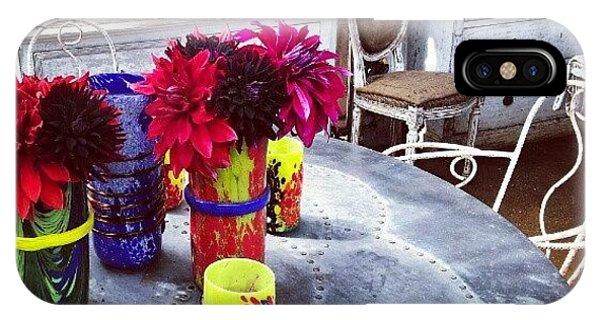 Quirky iPhone Case - Neon Bright Vases by Natasha Futcher