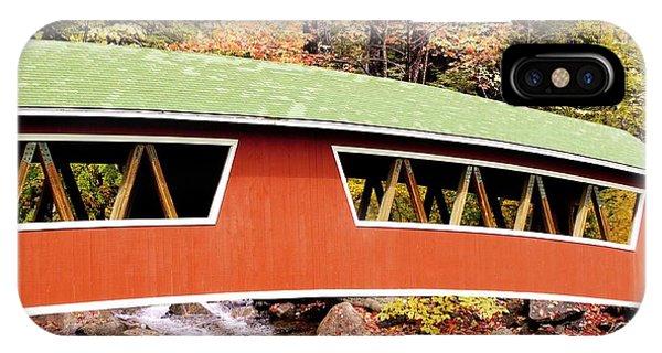 New England Covered Bridge Phone Case by Tony Craddock