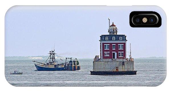 New London Ledge Lighthouse. IPhone Case