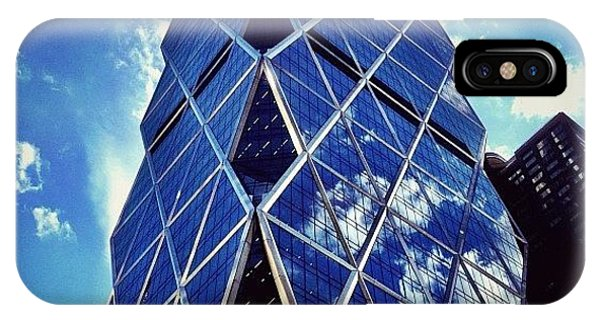 Artwork iPhone Case - New York City - The Hearst Tower by Vivienne Gucwa