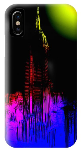 Empire State Building iPhone Case - New York Nights by Steve K
