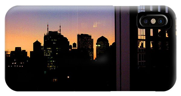 New York Reflections IPhone Case