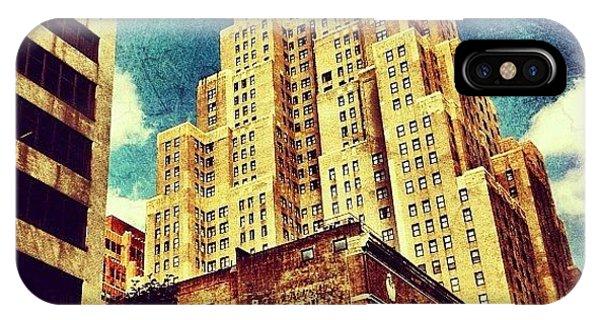 Skylines iPhone Case - New Yorker Hotel by Luke Kingma