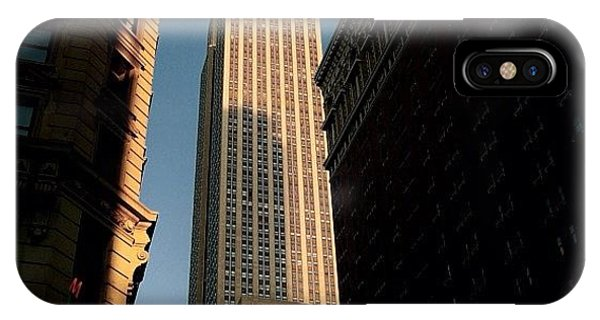 Skylines iPhone Case - #newyorker #newyork #ny #empire by Joel Lopez