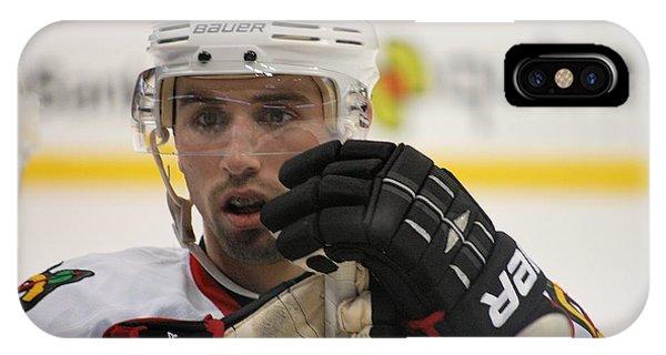 Nick Leddy - Chicago Blackhawks IPhone Case