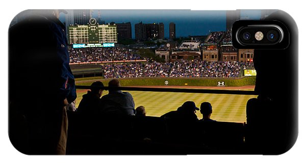 Night Game At Wrigley Field IPhone Case