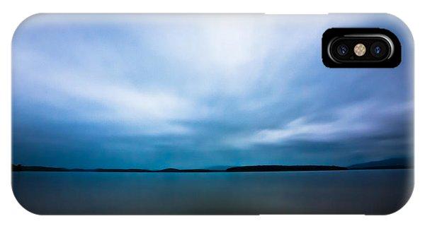 Nightfall On The Lake II IPhone Case