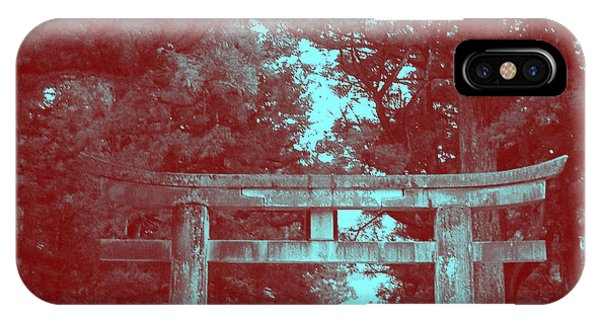 Temple iPhone Case - Nikko Gate by Naxart Studio