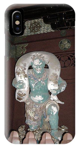 Nikko Green Figure Phone Case by Naxart Studio