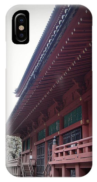 Temple iPhone Case - Nikko Monastery by Naxart Studio