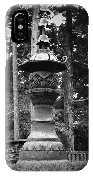 Temple iPhone Case - Nikko Sculpture by Naxart Studio