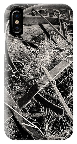 IPhone Case featuring the photograph No More Plowing by Ron Cline