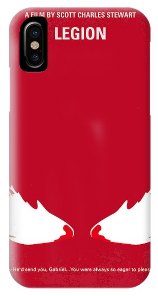 Angels iPhone Case - No050 My Legion Minimal Movie Poster by Chungkong Art