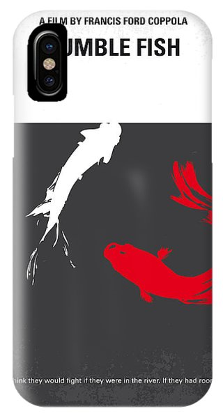 Design iPhone Case - No073 My Rumble Fish Minimal Movie Poster by Chungkong Art