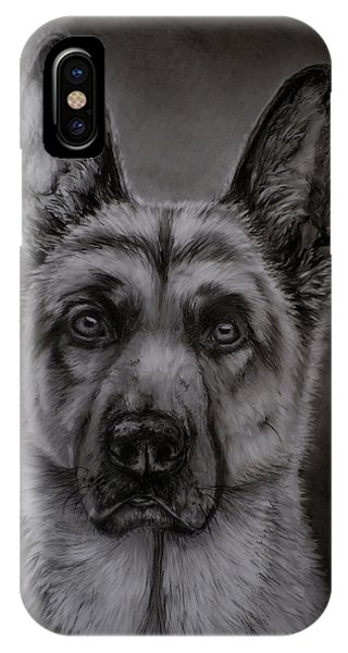 Noble - German Shepherd Dog  IPhone Case