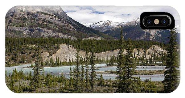 North Saskatchewan River Valley Phone Case by Bob Gibbons