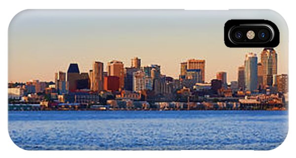 Northwest Jewel - Seattle Skyline Cityscape IPhone Case