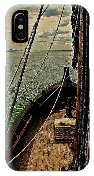 Notorious The Pirate Ship 6 IPhone Case