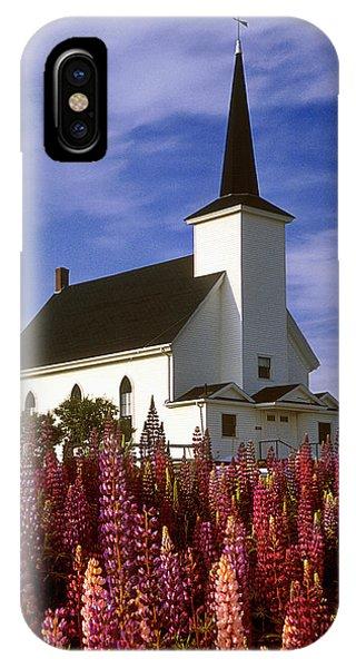 Nova Scotia Church IPhone Case