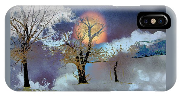 November Moon IPhone Case