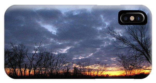 November Sunrise Phone Case by Cedric Hampton