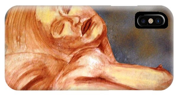 Nude Lady In Repose IPhone Case