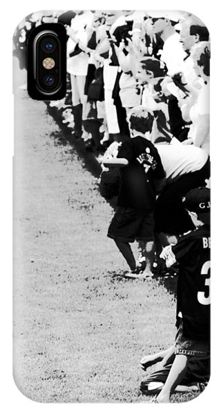 Number 1 Bettis Fan - Black And White IPhone Case