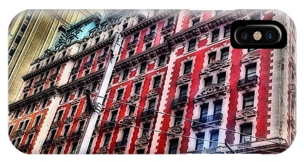 Skylines iPhone Case - #ny #newyorker #architecture #broadway by Joel Lopez