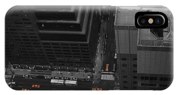 Chrysler Building iPhone Case - Nyc From The Top 1 by Naxart Studio