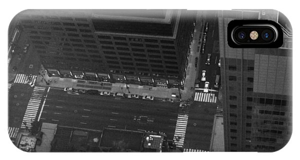 Chrysler Building iPhone Case - Nyc From The Top by Naxart Studio