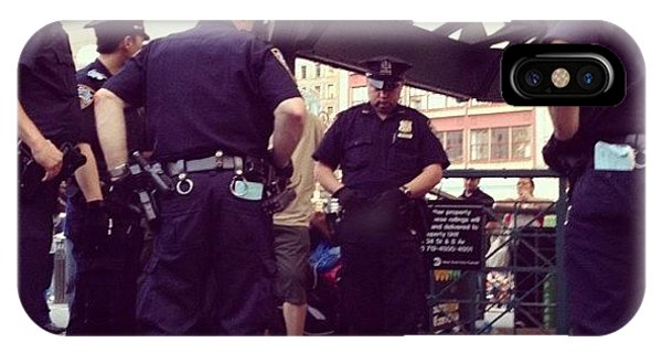 Instagram iPhone Case - Nypd by Randy Lemoine