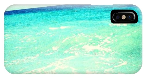 Edit iPhone Case - #ocean #plain #myrtlebeach #edit #blue by Katie Williams