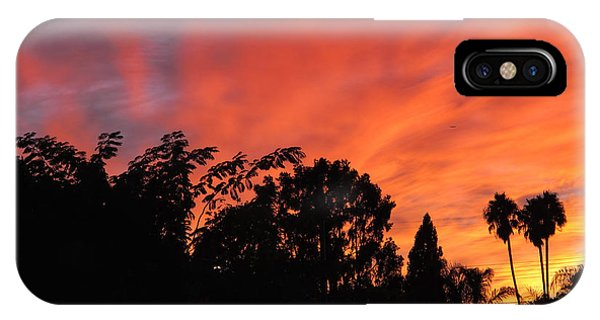 October Sunset 10 IPhone Case