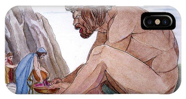Odysseus & Cyclops IPhone Case