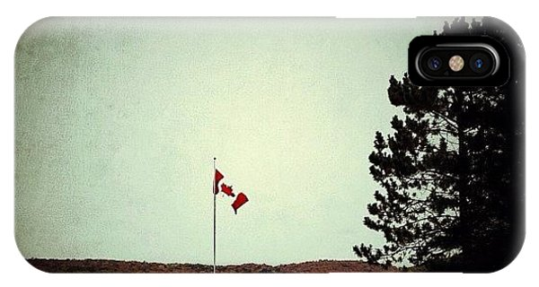 Patriotic iPhone Case - Oh Canada by Natasha Marco