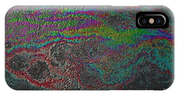 Oil On Pavement Summoning Spirit IPhone Case