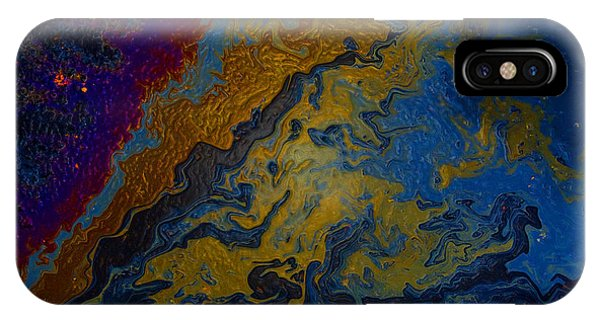 Oil On Pavement True Colors IPhone Case