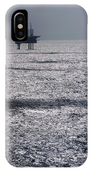 Oil Platform Phone Case by Arno Massee