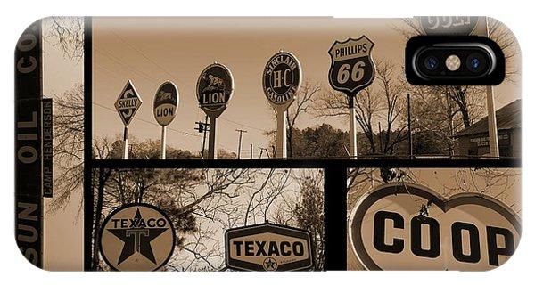 Oil Sign Retirement IPhone Case