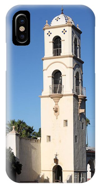 Ojai Post Office Tower IPhone Case