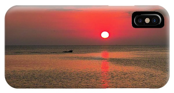 Okinawa Sunset IPhone Case