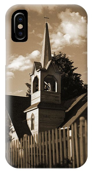 Ol' Church On The Hill IPhone Case